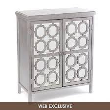 mirrored door wood cabinet kirkland u0027s