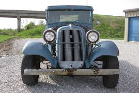 Old Ford Truck Grills - parked 46 years 1934 ford truck rod