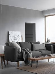 Nockeby Sofa Hack Shades Of Grey Norsborg Nordic Living Room And Living Room Grey