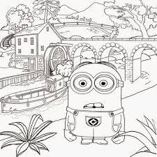 top funny cartoon despicable me coloring pages womanmate com