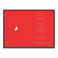 designer weihnachtskarte designer weihnachtskarte nr 114 für firmen in schwarz rot mit