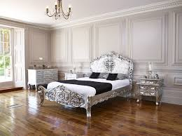 silver leaf french italian rococo super king size bed