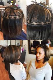Short Bob Weave Hairstyles Short Bob Sew In Weave Hairstyles 1000 Ideas About Black