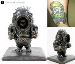 minion hulk statue custom bronze gift tom spina designs tom
