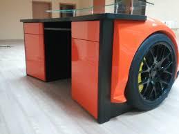 Auto Office Desk Manufacture Retro Lamborghini Murcielago Desk Novelty Furniture