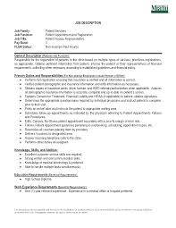 resume samples for customer service representative patient service representative resume sample quintessential patient service representative resume examples patient service representative resume