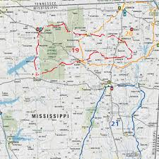 Ocala National Forest Map Mad Maps Usrt130 Scenic Road Trips Map Of Louisiana And