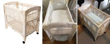 Cribs That Attach To Side Of Bed Baby Co Sleeper Vs Crib Baby And Nursery Furnitures