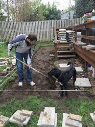 Build Paver Patio Build A Paver Patio For A Backyard Upgrade The Home Depot