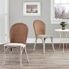 Woven Dining Room Chairs Dining Room Chair Dark U0026 Light