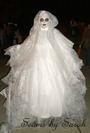 Ghost Costumes No Sew Tulle Ghost Costume Robe Costumes And Ghost Costumes