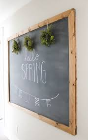 Chalkboard Home Decor by Best 25 Chalkboard Decor Ideas On Pinterest Making Signs Hand