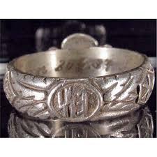 ss wedding ring german ss wedding ring w himmler signature inside band