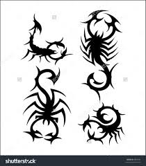 tribal scorpion tattoo project real photo pictures images and