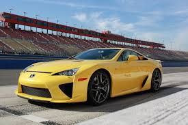 lexus lfa yellow supercars that look gorgeous in yellow