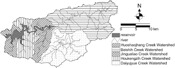 optimization model for bmp placement in a reservoir watershed