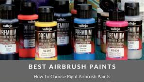 what type of paint do you need for kitchen cabinets choose the right airbrush paint airbrush guru