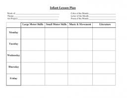 preschool lesson plan template book daycare plans for 4 year