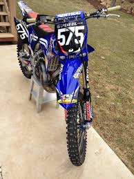 motocross racing 2 race bike build yz 250 2 stroke complete moto related