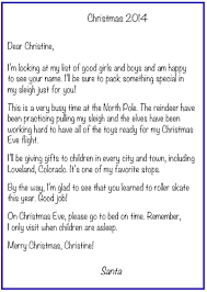 letters from santa personalized letters from santa personalized santa letters
