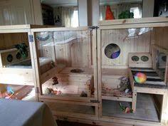 Indoor Hutch Homemade Flemish Giant Rabbit Cage Aviary Pinterest Flemish