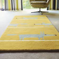 Trendy Rugs Mr Fox Rugs Are Handmade In India By Brink And Campman And Have