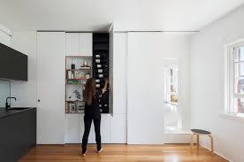 Small Cabinet Door Small Space Hacks Sliding Cabinet Doors Hide Clutter