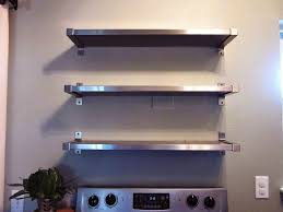 stainless steel kitchen shelves design of stainless steel kitchen