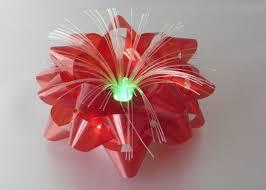 gift bows in bulk iridescent optical fiber led ribbon bow 3 75 lighting led