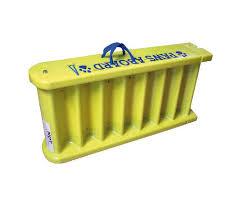 bagno per cani scaletta galleggiante bagno per cani aperta 163x40 cm