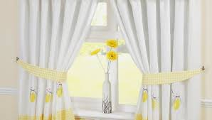 Red And White Curtains For Kitchen Yellow Kitchen Curtains Dsc Kitchen Yellow Kitchen Curtains