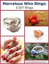 make metal rings images Marvelous wire rings 5 diy rings jpg
