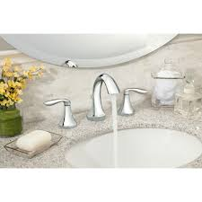 bathroom faucet installation moen t6420 eva two handle high arc bathroom faucet without valve