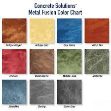 metal fusion system concrete solutions metallic epoxy flooring