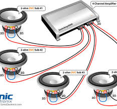 astonishing subwoofer wiring diagram 3 ohm inspiring wiring ideas