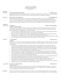 Sample Resume Template For Experienced Candidate by Sample Resume Harvard Gallery Creawizard Com