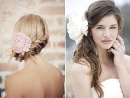 hairstyles for weddings for 50 50 romantic wedding hairstyles using flowers romantic wedding