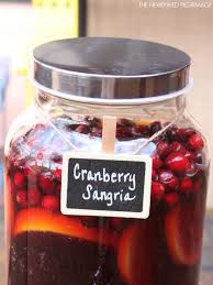 best 25 cranberry sangria ideas on thanksgiving