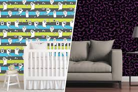 spooky removable wallpaper for halloween