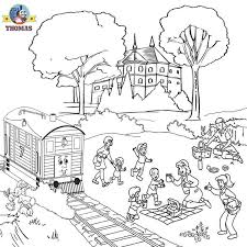 engine free coloring pages coloring