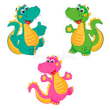 funny colors funny cartoon dinosaur in different colors emerald dinosaur green