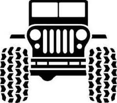 safari jeep front clipart jeep clip art for cup inserts and iron on transfers jeep party