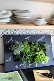 Indoor Herb Planters by How To Grow Herbs Indoors Successfully Garden Therapy