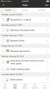 wedding planner calendar weddinghappy wedding planner on the app store