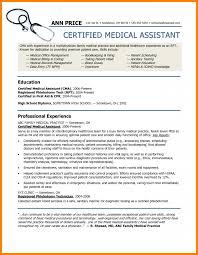 Phlebotomy Resume Examples by 6 Medical Assistant Resumes Examples Technician Resume