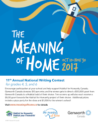 meaning of home contest habitat for humanity