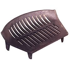 12 inch stool fire grate 4 legs cast iron grate fireplace