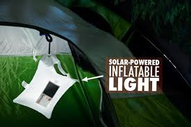 Solar Lights Hanging by Luminaid Solar Powered Inflatable Lantern