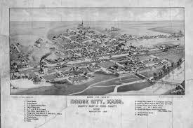 Bird View Map Bird U0027s Eye View Of Dodge City Kansas Kansas Memory Kansas
