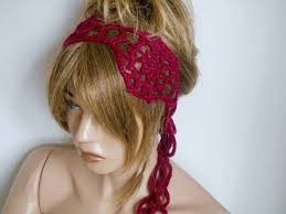 crochet hair bands 147 best hair band images on mimosas headbands and